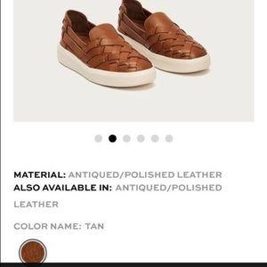 1e087fb2abe7d Frye Shoes - Frye Brea Huarache Slip On Flats Leather Sneakers